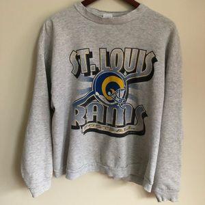 Vintage St. Louis Rams Crewneck